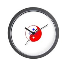 Balance The USA Red White and Blue Yin Yang Wall C