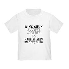 Wing Chun Martial Arts Designs T
