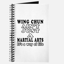 Wing Chun Martial Arts Designs Journal