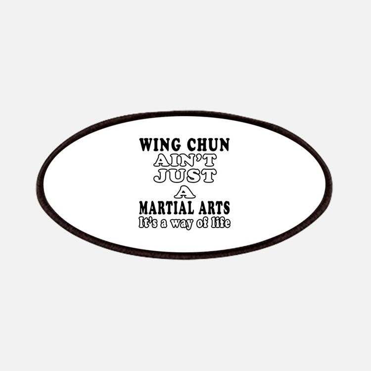 Wing Chun Martial Arts Designs Patches