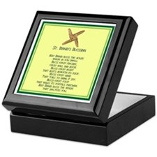 IRISH BLESSINGS- ST. BRIGID Keepsake Box