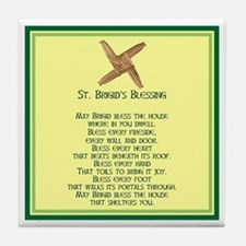 IRISH BLESSINGS- ST. BRIGID Tile Coaster