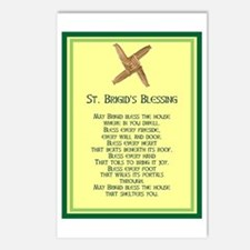 IRISH BLESSINGS- ST. BRIGID Postcards (Package of