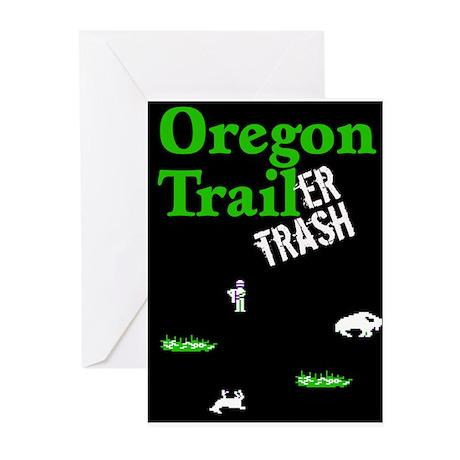 Oregon Trailer Trash Greeting Cards (Pk of 10)