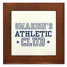 Omarion Framed Tile