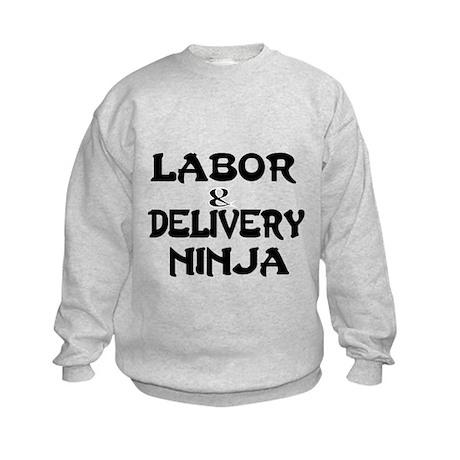 Labor Delivery Ninja Sweatshirt