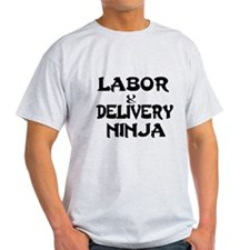 Labor Delivery Ninja T-Shirt