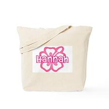 """""""Hannah Pink Hibiscus"""" Tote Bag"""