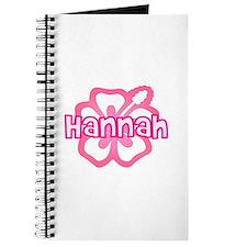 """Hannah Pink Hibiscus"" Journal"