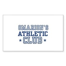 Omarion Rectangle Decal
