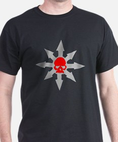 Chaos Wheel with Red Skull T-Shirt