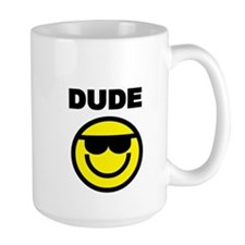 DUDE WITH SMILEY FACE Mug