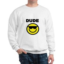 DUDE WITH SMILEY FACE Sweatshirt