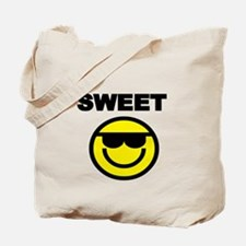 SWEET WITH SMILEY FACE Tote Bag