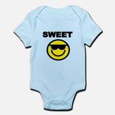 SWEET WITH SMILEY FACE Body Suit