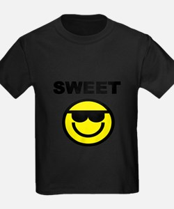 SWEET WITH SMILEY FACE T-Shirt