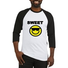 SWEET WITH SMILEY FACE Baseball Jersey