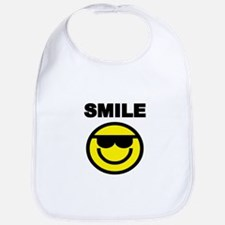 SMILE WITH SMILEY FACE Bib