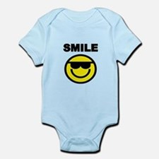 SMILE WITH SMILEY FACE Body Suit