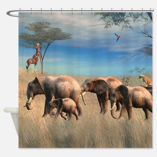 Safari 2 Shower Curtain