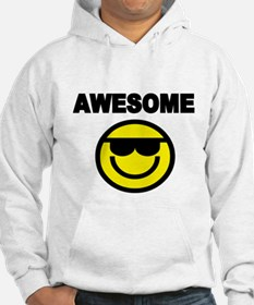 AWESOME WITH SMILEY FACE Hoodie