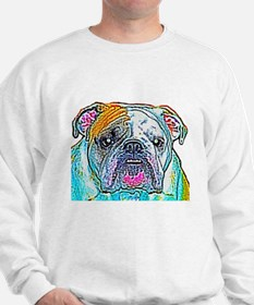 Bulldog in Color Jumper