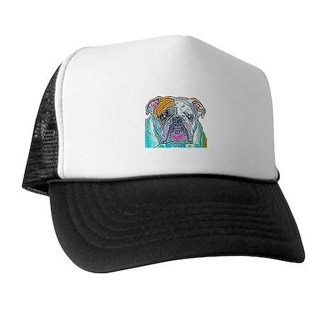 Bulldog in Color Trucker Hat