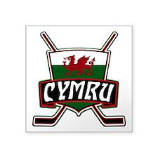 Wales Welsh Ice Hockey Shield Sticker
