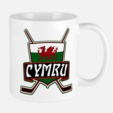 Wales Welsh Ice Hockey Shield Mug