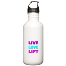 LIVE LOVE LIFT-COLOR Water Bottle