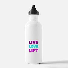 LIVE LOVE LIFT-COLOR Water Bottle