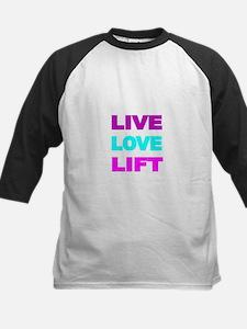 LIVE LOVE LIFT-COLOR Baseball Jersey