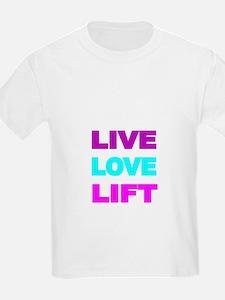 LIVE LOVE LIFT-COLOR T-Shirt