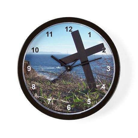 Cross Lighthouse Wall Clock