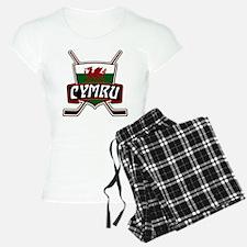Wales Welsh Ice Hockey Shield Pajamas