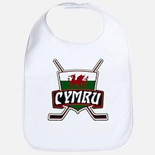 Wales Welsh Ice Hockey Shield Bib