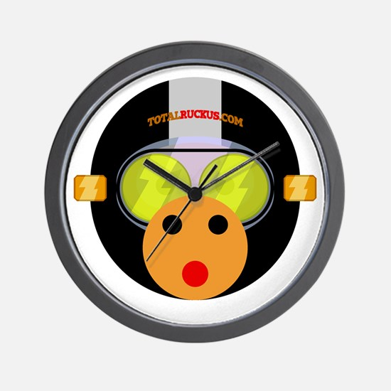 Ruckus Monkey Wall Clock