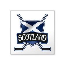 Scottish Scotland Ice Hockey Shield Sticker