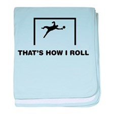 Goalkeeper baby blanket