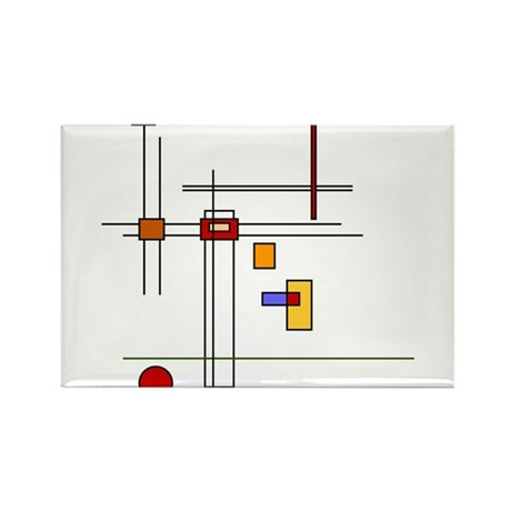Skware Skare Rectangle Magnet (10 pack)
