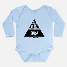 Gym Workout Long Sleeve Infant Bodysuit