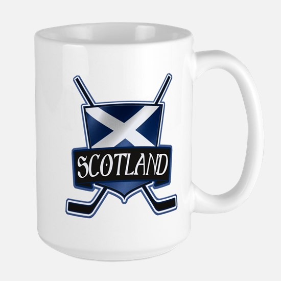 Scottish Scotland Ice Hockey Shield Mug