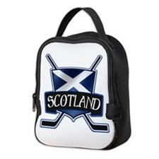 Scottish Scotland Ice Hockey Shield Neoprene Lunch