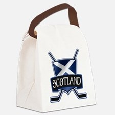 Scottish Scotland Ice Hockey Shield Canvas Lunch B