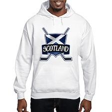 Scottish Scotland Ice Hockey Shield Hoodie