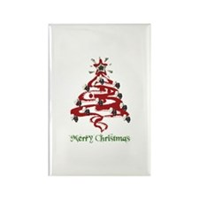 Actors' Christmas Tree Rectangle Magnet