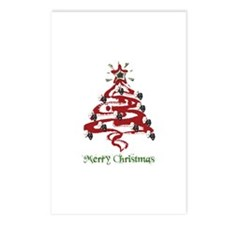 Actors' Christmas Tree Postcards (Package of 8)