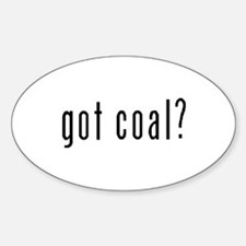 Got Coal? Oval Decal