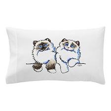 Ragdolls Pair Off-Leash Art™ Pillow Case