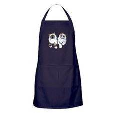 Ragdolls Pair Off-Leash Art™ Apron (dark)